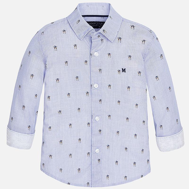 00bbcdac7 Camisa Niño Manga Larga Modelo 1161