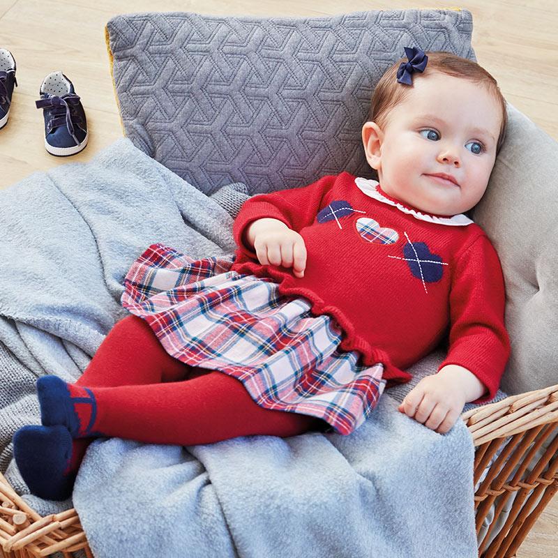 Gris Vestido para beb/é ni/ña Mayoral 2851