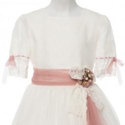 Vestido Niña Comunión Modelo 080