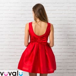 Vestido Rojo Amaya Modelo 22790