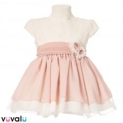 Vestido Niña Ceremonia Modelo 0489
