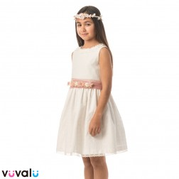 Vestido NIÑA ARRAS ANAVIG MODELO 4030