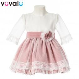Vestido niña ceremonia 0349