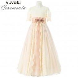 Vestido Comunion Rosa Clará