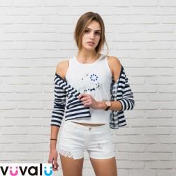 Camiseta y Chaqueta Niña Modelo 6170