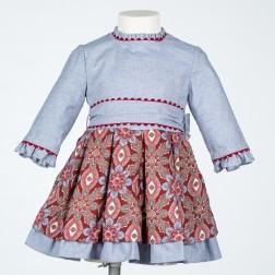 Vestido Niña 2246