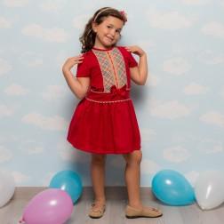 Vestido Niña 6719
