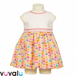 Vestido Fresas Modelo 1015