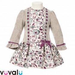 Vestido de niña modelo 7415