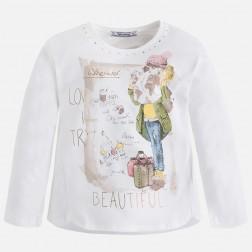 Camiseta niña Mayoral modelo 4047