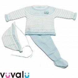 Conjunto Polaina de bebé modelo 5029