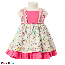 Vestido NIÑA ALBER MODELO 3425