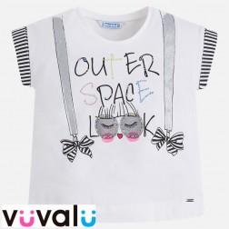 Camiseta niña mayoral modelo 3022