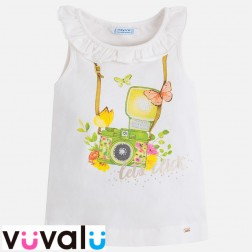 Camiseta niña mayoral modelo 3048