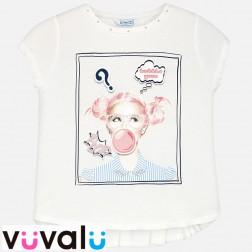 Camiseta niña mayoral modelo 6038