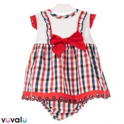 Vestido CON BRAGUITA Y CAPOTA MODELO 9130