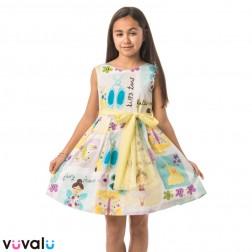 Vestido NIÑA LILUS MODELO 24152