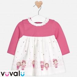 Vestido bebe mayoral 2858
