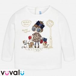 Camiseta niña mayoral 2046