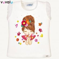 Camiseta niña mayoral 3008