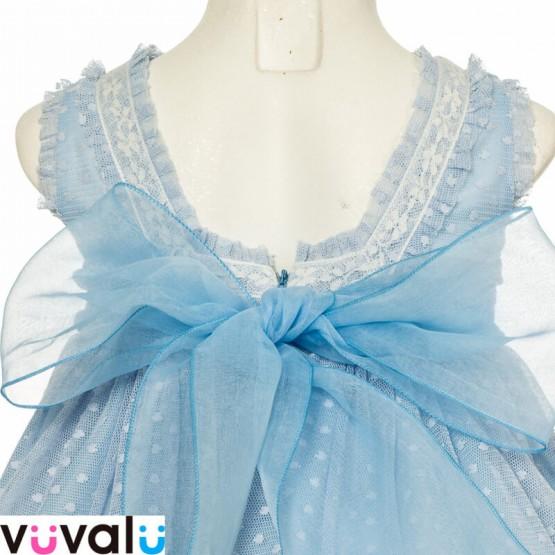 Vestido Niña gasa Amaya Modelo 22413