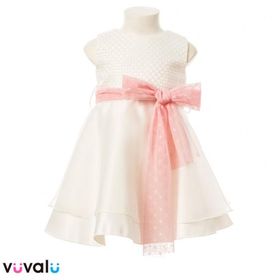 Vestido CEREMOMIA NIÑA MODELO 23170