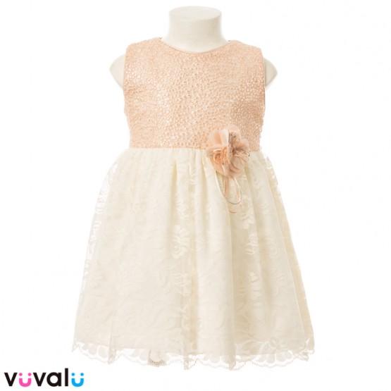 Vestido CEREMONIA NIÑA MODELO 23156