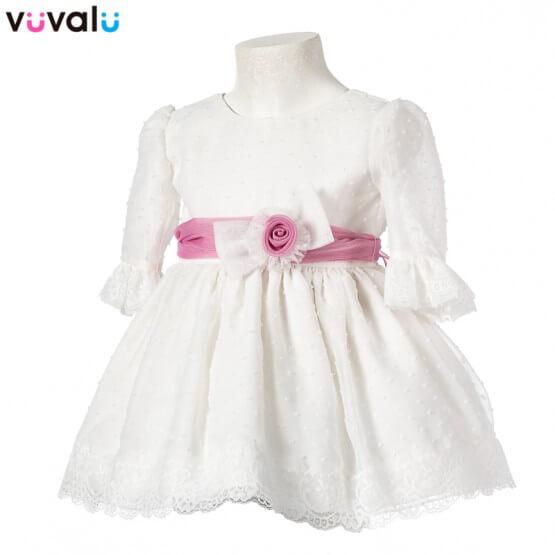 Vestido niña ceremonia 0497
