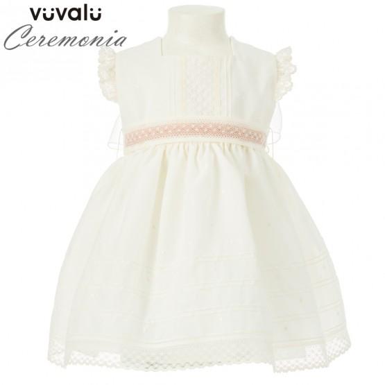 Vestido BAUTIZO NIÑA 0360