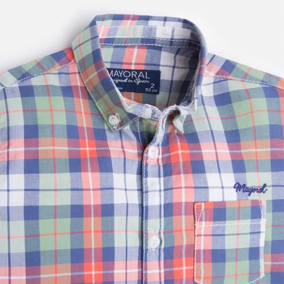 Camisa Niño Cuadros Modelo 3149