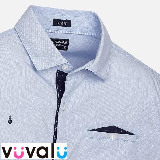 Camisa niño mayoral modelo 6158