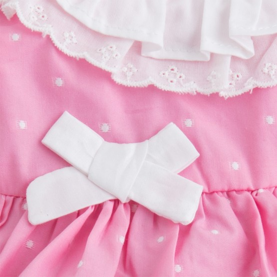 Vestido con braguita bebe mayoral modelo1852