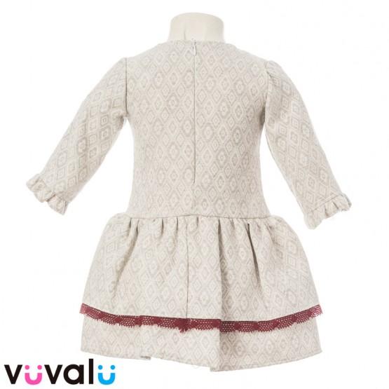 Vestido niña modelo 9672